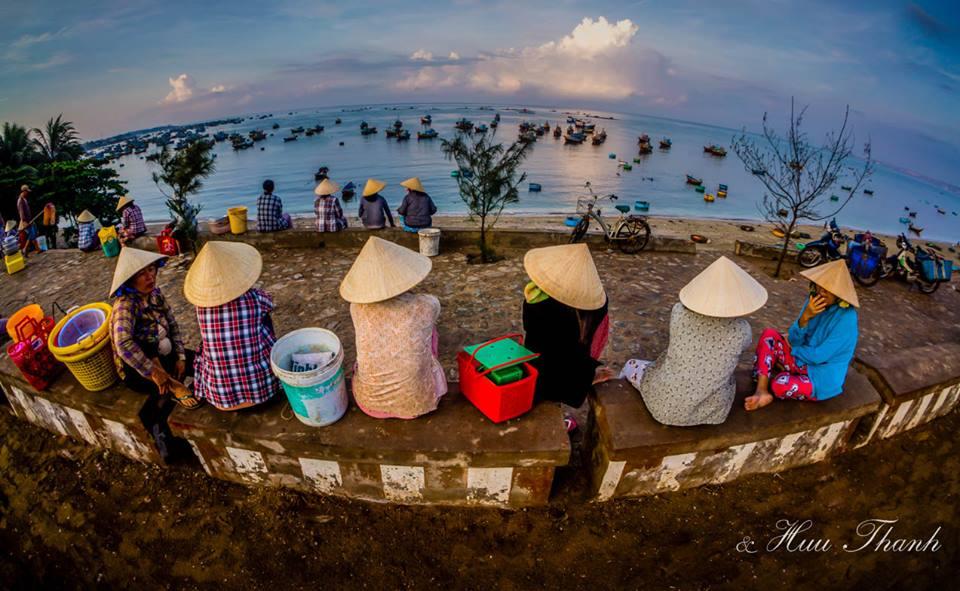 làng chài Mũi né